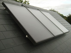 Roof Mounted Solar Panels - Flat Plate