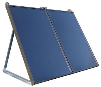 Ground or Wall mounted flat solar panels